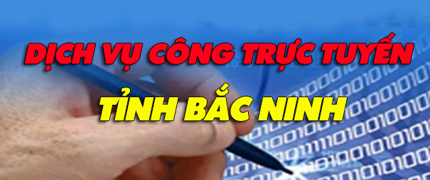 Dịch vụ công trực tuyến trang CCHC