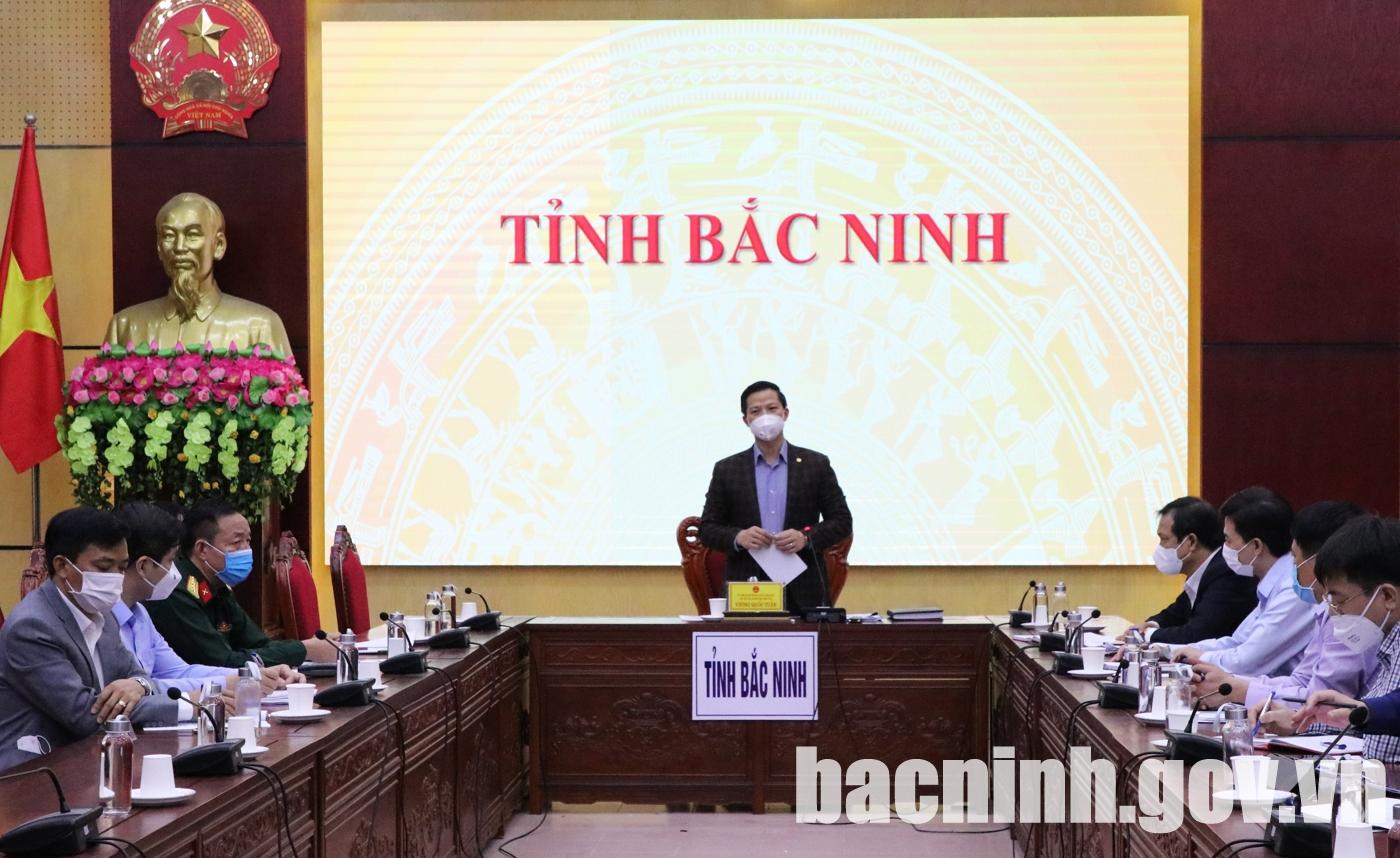 Hội nghị trực tuyến toàn quốc đánh giá sau 10 ngày thực hiện Nghị quyết số 128/NQ-CP của Chính phủ